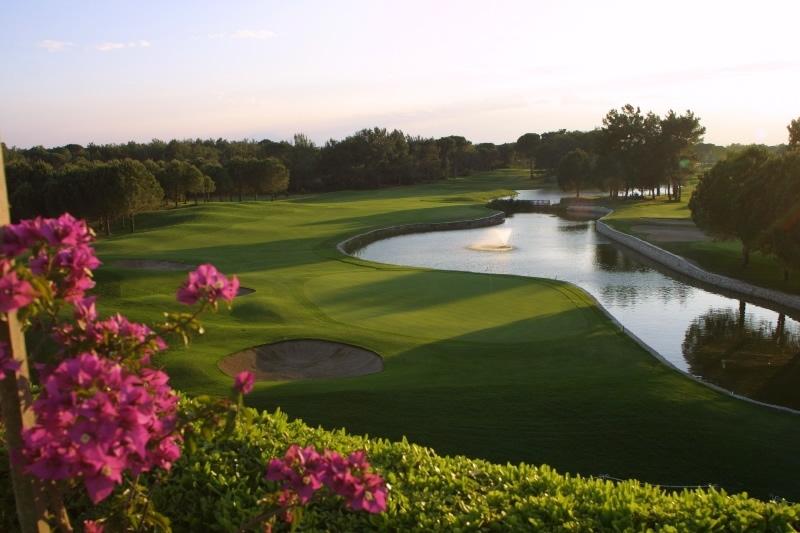 national golf club in belek belek 18 loch golfplatz. Black Bedroom Furniture Sets. Home Design Ideas